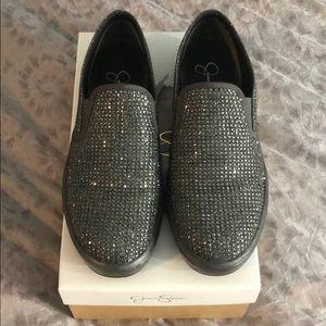 Jessica Simpson Glitter Gabor Sneakers